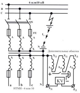 Трансформаторы напряжения в цепях 110 кв